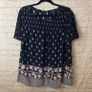 Torrid short sleeve blouse